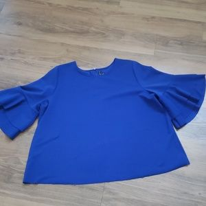 Bright royal Blue Top